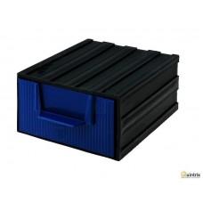 Modul cu sertar(105x120x60mm);Culoare sertar:albastra