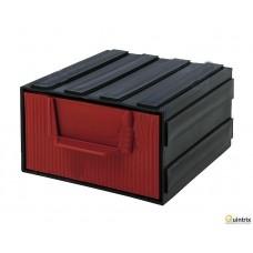 Modul cu sertar(105x120x60mm);Culoare sertar:rosie