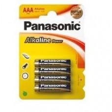 R3 (AAA, LR03) 1,5V BATERIE ALCALINA PANASONIC