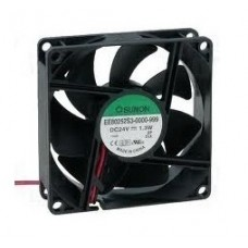 EE80252S1-000U-A99 Ventilator: 24V DC, 80x80x25mm