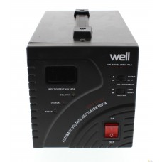 Stabilizator de tensiune cu servo motor 500VA WELL