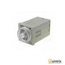 Timer 1s÷600h; DPDT, SPDT; 250VAC/5A; 24÷240VAC; 24÷240VDC; soclu