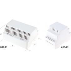 Carcasa pentru montare pe sina DIN 2 module