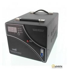 Stabilizator automat de tensiune cu servo motor 1000VA/600W Well