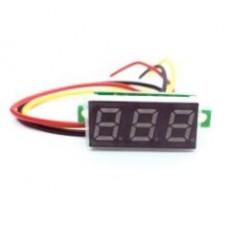 Mini voltmetru digital 0-100VDC