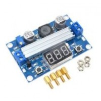 Modul convertor DC-DC ridicator de tensiune max. 100W cu voltmetru digital