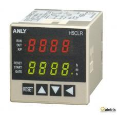 Timer; Interval:0,001s÷9999h; DPDT; 100÷240VAC; 100÷240VDC