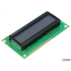 Afişaj LCD; alfanumerice; STN Positive; 16x2; gri; LED; PIN:16