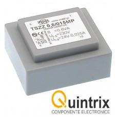 Transformator incapsulat PCB TSZZ 230V->6V/0.1A INDEL