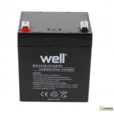 Baterie reîncãrcabilã: plumb-acid 12V/5Ah