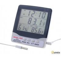 Termohigrometru LCD -20÷40°C/0,1°C/10÷95%RH