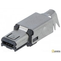 Mufa USB mini Hirose cu lipire 4 pini