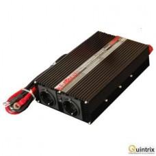 Invertor 12V/230V 1000W 2 IESIRI