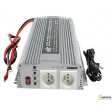 Invertor 12V/230V 1000W cu unda sinusoidala modificata HQ