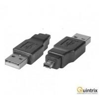Adaptor USB mini Hirose tata 4 pini ->USB tata