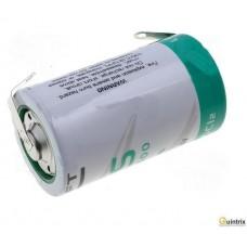Baterie:litiu;3,6V;D;urechi pentru lipire LS 33600CNR