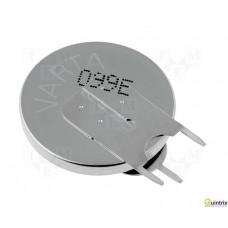 Baterie: litiu; 3V; CR2450; 3 pini