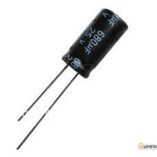 680UF-25V Condensator electrolitic 105°C 10X20MM