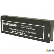 MP1222A 12V,2.2Ah Acumulator cu plumb