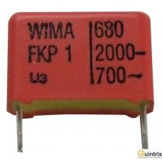 Condensator de impuls 680PF-2000V