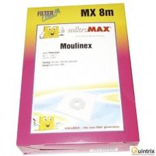 Sac aspirator MX8m 4buc+1filtru motor