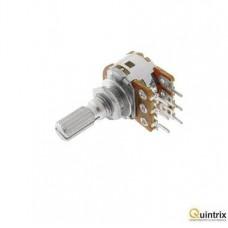 Potentimetru linear stereofonic 10kΩ