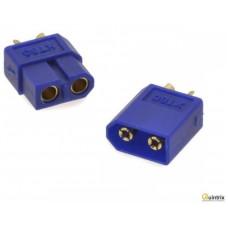 Conector electric 65A; 2pini, Culoare: albastrã
