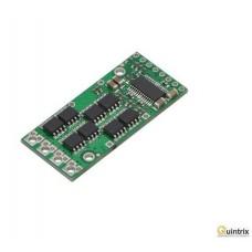 Controler motor DC; 40kHz; 15A; Uwej sil:5,5÷50V; Uin log:5,5V