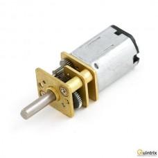 Motor DC cu transmisie; 3÷9VDC; HP; 30:1; Arb.pe douã feþe: nu