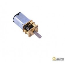 Motor DC cu transmisie; 3÷9VDC; LP; 10:1; Arb.pe douã feþe: nu