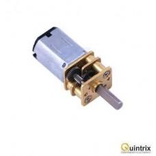 Motor DC cu transmisie; 3÷9VDC; HP; 150:1; Arb.pe douã feþe: nu