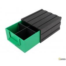 Modul cu sertar(108x120x60mm); Culoare sertar:verde