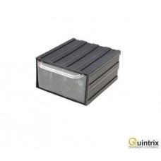 Modul cu sertar(105x120x60mm); Culoare modul:neagra