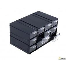 Set cu sertare; Nr.sert.într-un modul:12; 230x142x125mm