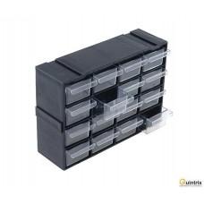 Set cu sertare; Nr.sert.într-un modul:16; 230x142x125mm