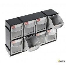 Set cu containere;Nr cont.in modul:8; 0.2l; ABS