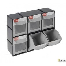 Set cu containere;Nr cont.in modul:6; 0.5l; ABS