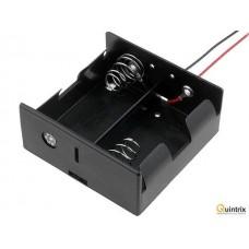Suport baterie; tip D/R20; Nr. bat:2