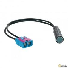 Adaptor antenã; DIN soclu, Fakra soclu x2; Audi, Seat, Skoda, VW