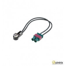 Adaptor antenã; Fakra mufã x2,ISO