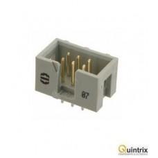 Conector IDC; tatã; PIN:6; drept; THT; 1,27mm; Pas pini:2,54mm