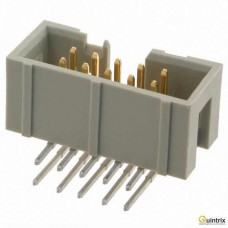 Conector IDC; tatã; PIN:10; în unghi 90°; THT; 1,27mm
