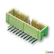 Conector  IDC; tatã; PIN:20; în unghi 90°; THT; 1,27mm