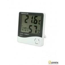 Termometru, ceas si higrometru, cu afisaj LCD - HTC 1
