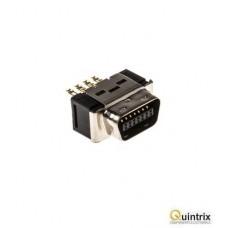 Conector MDR; PIN:14; ecranat;tata