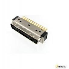 Conector MDR; PIN:50; ecranat;tata