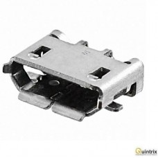 Mufa USB B micro; pentru PCB; SMT; PIN:5; orizontale