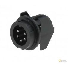 Conector circular; Serie: C091B; tata; PIN:5; IP40;soclu
