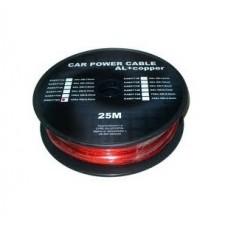 Cablu putere CU-AL 10GA (5.5MM/5.22MM2) roșu