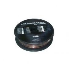 Cablu putere CU-AL 12GA (4.5MM/3.31MM2) negru